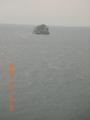 久米島・島尻のクジラが見える丘からトンバーラ