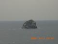 久米島・鳥の口からトンバーラうぃ望む