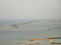 久米島・ヒデンチガマ方面を望む