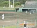 宮古島・宮古高校練習風景