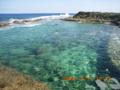 南大東島の海の人工プール