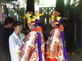 八月踊り・楽屋裏(2006.9.29)