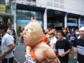 那覇マラソン2006・国際通りにて