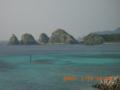 阿嘉島港からの絶景風景