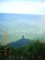 奄美大島北端の灯台にて