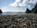 奄美大島の南東側海岸・玉石が見事