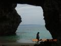 宮古島・砂山ビーチにて