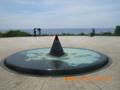 摩文仁の丘の平和の灯火