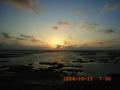 徳之島の朝日