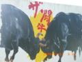 徳之島の闘牛看板