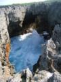 潮吹き洞窟にて