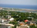 粟国島の村風景