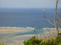 渡名喜島の岬から