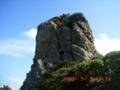 伊是名島神の岩