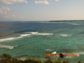 伊是名島北部からの海風景