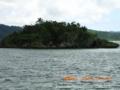 西表島・前泊海岸の小島「まるま盆」