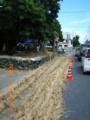 石垣島石垣「宮鳥御嶽」のオンプール準備