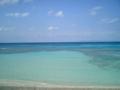 2004.1.14波照間島海水の透明度は沖縄一かも?