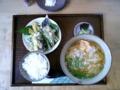 2004.1.15石垣島・伊野田のきしめん定食
