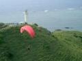 石垣島・平久保崎のパラグライダー2004年1月