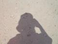 石垣島ハーリーの日の梅雨明けの影