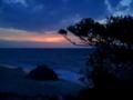 波照間島・ニシ浜・ムシャーマの夕暮れ