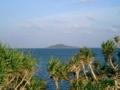 [宮古島]池間大橋手前から大神島を望む