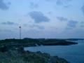 [宮古島]西平安名崎の台風被害の風力発電