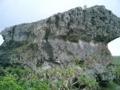 下地島・帯岩