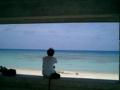 冬の波照間島ニシ(北)浜にて2005.1.25