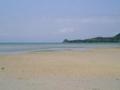 冬の竹富島/コンドイビーチ(2005.1.29)