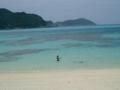 渡嘉敷島・阿波連ビーチ(2005.5.22)