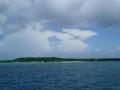 憧れだった鳩間島が見えた!