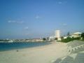 宮古島・バイナガマビーチにて