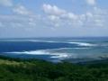 久米島・はての浜を望む(2005.12.6)