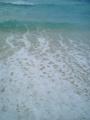 宮古島・冬の穏やかな砂山ビーチ(2005.12.8)