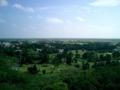 八重山遠見台から集落方面を望む