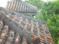 石垣島の古民家の赤瓦