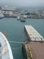海から与那国島初上陸の島旅へ!石垣港にて