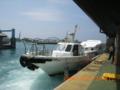 石垣港から黒島へ
