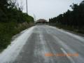黒島の白い道