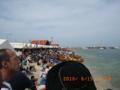 石垣島のハーリーの日(新栄漁港にて)