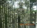 糸満市、沖縄県立第二高女「白梅の塔」の碑前