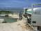 沖縄本島南部、大渡海岸・地下ダムの出口