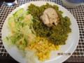 ペルーチチカカ湖から帰った主人の料理