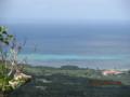 バンナ展望台から竹富島方面を望む