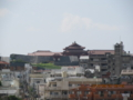 与儀駅からの首里城