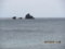 伊計島から遠望する海