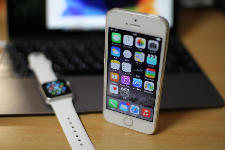 iPhoneとApple WatchをSIGMA 30mm F1.4 DC HSMで撮影(F1.4)