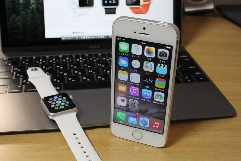iPhoneとApple WatchをSIGMA 30mm F1.4 DC HSMで撮影(F9)